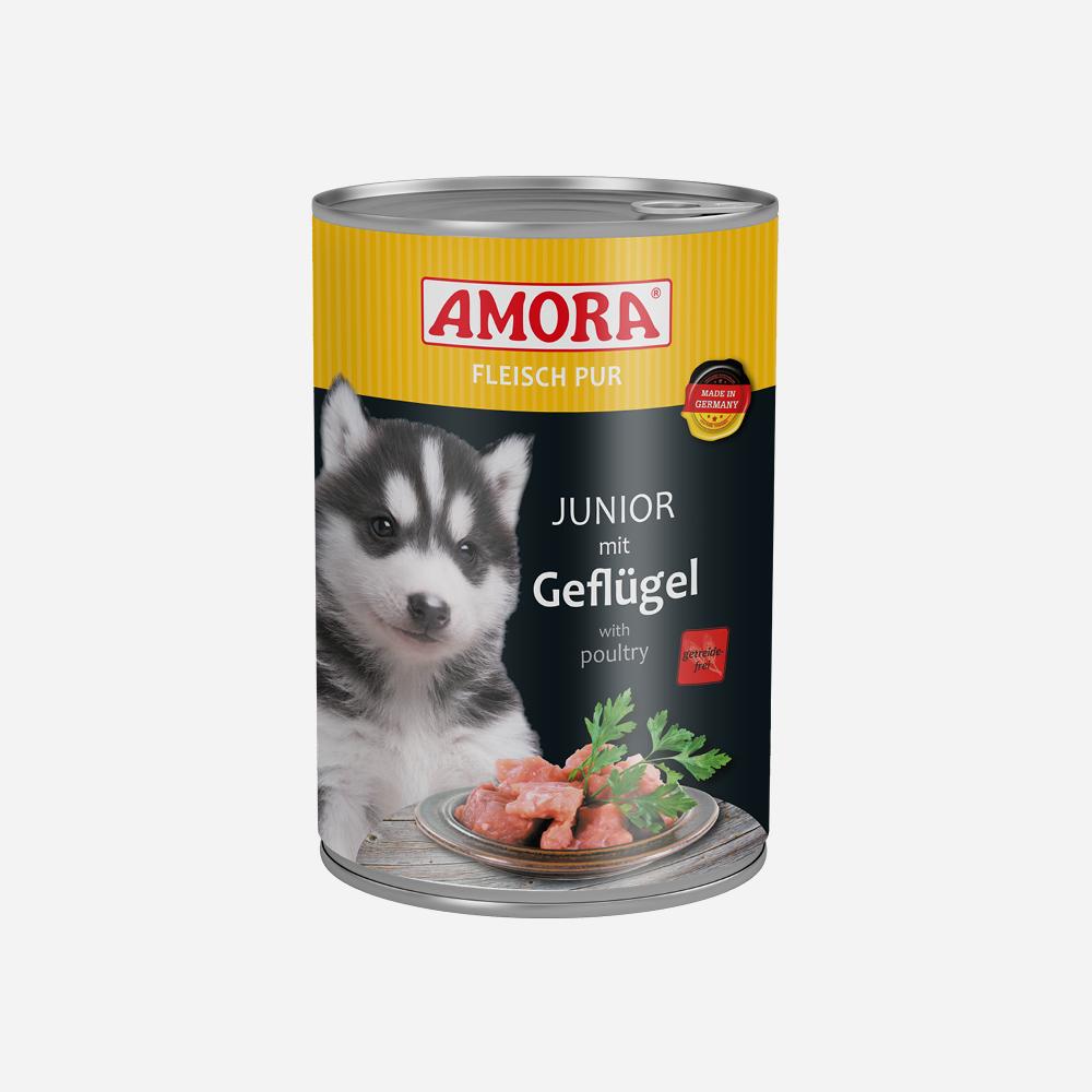 produkte-hund-fleisch-pur-junior-geflugel-400g