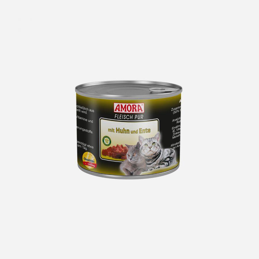 produkte-katze-fleisch-pur-huhn-ente-200g