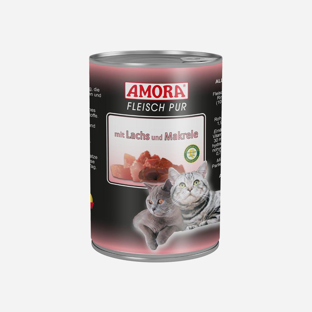 produkte-katze-fleisch-pur-lachs-makrele-400g
